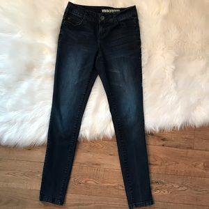 DKNY Hi Rise Skinny Jeans